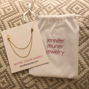 Jennifer Zeuner Dainty Star Necklace
